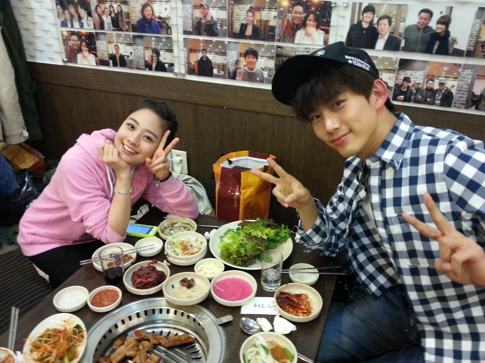Taecyeon and lee yeon hee hookup