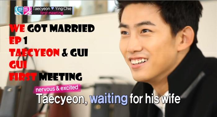 Taecyeon & Gui Gui Episode 1